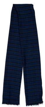 Louis Vuitton Wool & Silk-Blend Plaid Stole