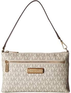 MICHAEL Michael Kors Large Wristlet Handbags - VANILLA - STYLE