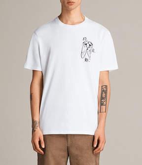 AllSaints Catrabbit Crew T-Shirt