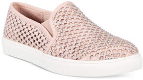 Material Girl Eidyth Slip-On Embellished Sneakers, Created for Macy's Women's Shoes