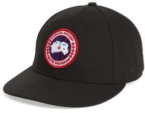 Canada Goose Men's Core Snapback Baseball Cap - Black