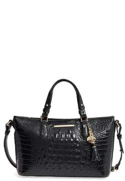 Brahmin Melbourne Mini Asher Leather Tote - Black