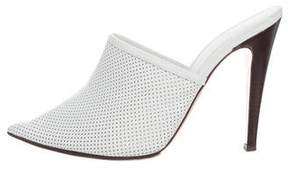 Jenni Kayne Perforated Leather Mules