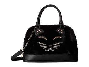 Betsey Johnson Kitsch Dome Satchel Satchel Handbags