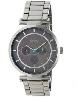 Simplify The 4800 Unisex Silver Tone Bracelet Watch-Sim4803
