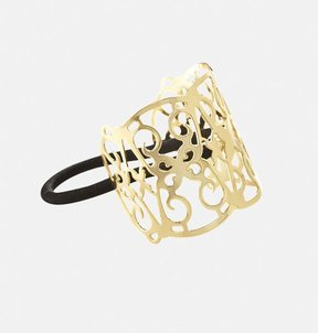 Gold-Tone Ponytail Cuff