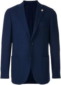 Lardini classic single-breasted blazer