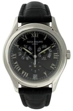 Patek Philippe 5035P Platinum Annual Calendar Automatic 37mm Mens Watch