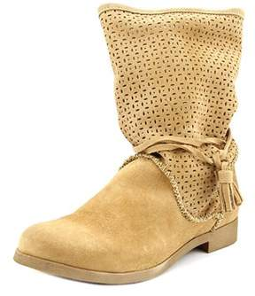 Coolway Nila Women Round Toe Suede Mid Calf Boot.