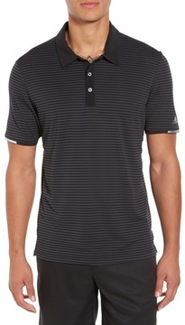adidas Men's Climachill Stripe Golf Polo