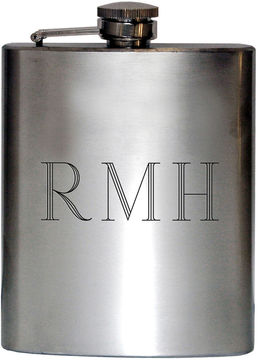 Accessories Satin Stainless Steel Engravable Flask