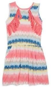 Imoga Toddler's, Little Girl's& Girl's Printed Sleeveless Dress