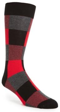 Happy Socks Men's Check Socks