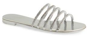 Giuseppe Zanotti Women's Nuvoroll Crystal Embellished Slide Sandal