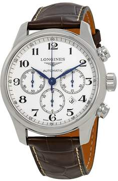 Longines Master Collection Chronograph Automatic White Dial Men's Watch