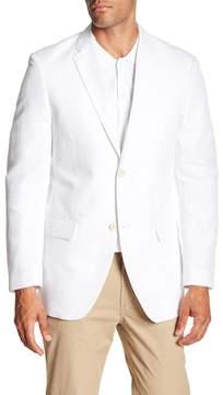 Perry Ellis Linen Blend Twill Regular Fit Blazer
