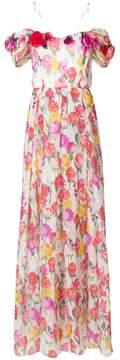 Blumarine floral evening dress
