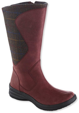 L.L. Bean Women's North Haven Boots, Wool/Leather Tall
