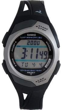 Casio STR300C-1V Womens Dual Time 60-Lap Digital Running Watch w/10 Year Battery