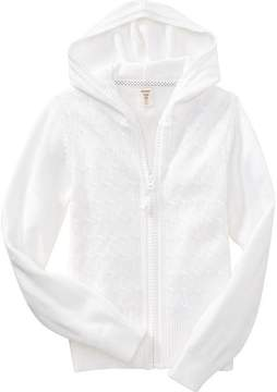 Old Navy Uniform Sweater-Knit Hoodie for Girls