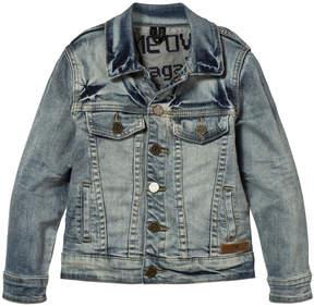 Molo Blue Worn Denim Harald Jacket
