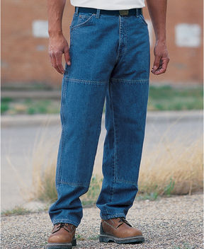 Dickies Relaxed Straight Double-Knee 6-Pocket Jeans