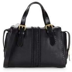 Cole Haan Loralie Whipstitch Leather Satchel