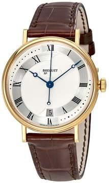 Breguet Classique Automatic Silver Dial Men's Leather Watch