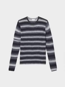Donna Karan Donnakaran Space Dye Striped Sweater