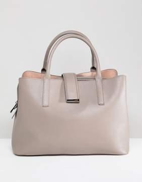Asos DESIGN Soft Pinch Lock Tote Bag