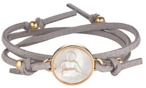 Asha Women's Zodiac Suede Wrap Bracelet