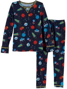 Cuddl Duds Toddler Boy 2-pc. Base Layer Top & Pants Set