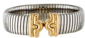 Bvlgari Tubogas Cuff Bracelet