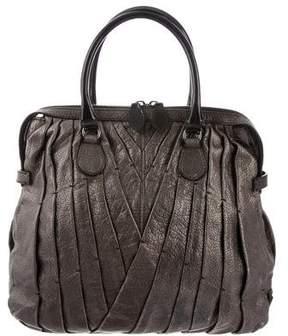 Valentino Leather Maison Tote