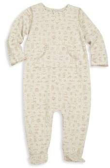 Absorba Baby's Printed Footsie