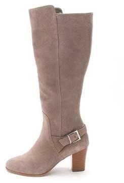 Alfani Womens Careeni Suede Closed Toe Fashion Boots.