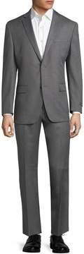 Andrew Marc Marc by Men's Logo Notch Lapel Suit