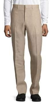 Black & Brown Black Brown Slim-Fit Linen Pants