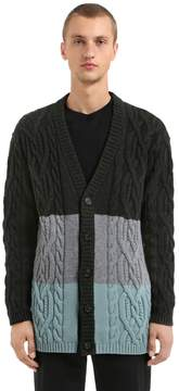Antonio Marras Wool Blend Knit Cardigan