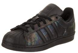 adidas Kids Superstar Black Iridescent Originals Casual Shoe.