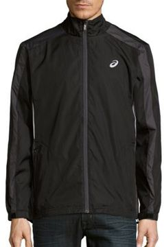 Asics Long-Sleeve Front-Zip Jacket