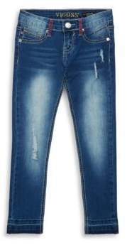 Vigoss Girl's Released Hem Jeans