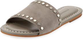 Bernardo Maggie Suede Studded Slide Sandal