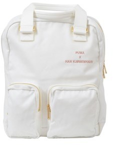 Puma Men's White Polyamide Backpack.