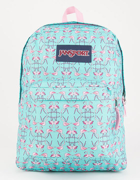 JanSport Flamingo Dance SuperBreak Backpack