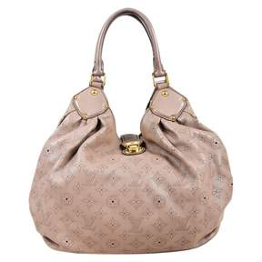 Louis Vuitton Mahina leather handbag - BEIGE - STYLE