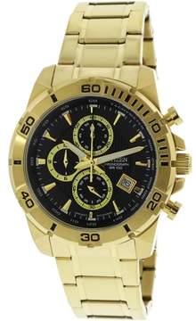 Citizen Men's Quartz Chronograph AN3492-50E Gold Stainless-Steel Plated Japanese Dress Watch