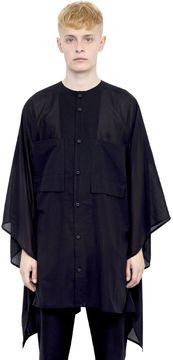 Alexandre Plokhov Cotton Gauze Caftan Shirt