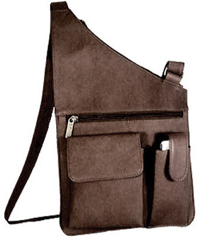 David King Leather 388 Cross Body Bag