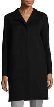 Cinzia Rocca Women's Spread Collar Wool-Blend Coat